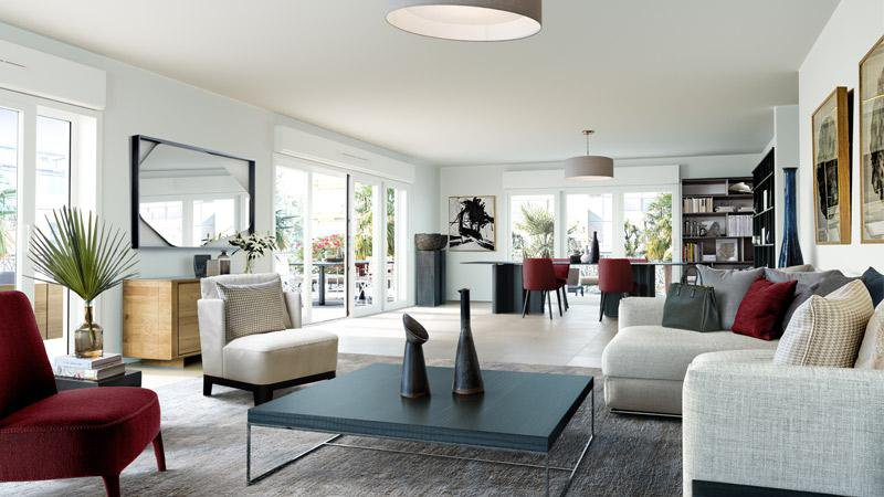 Lyxigt nybygge – Cannes Palm Beach
