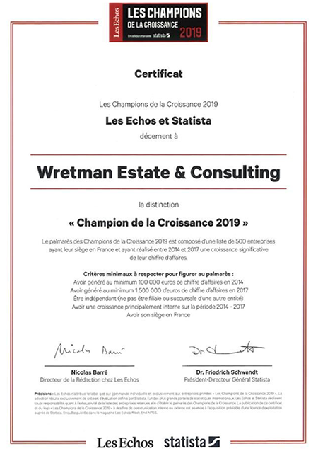 real estate award france