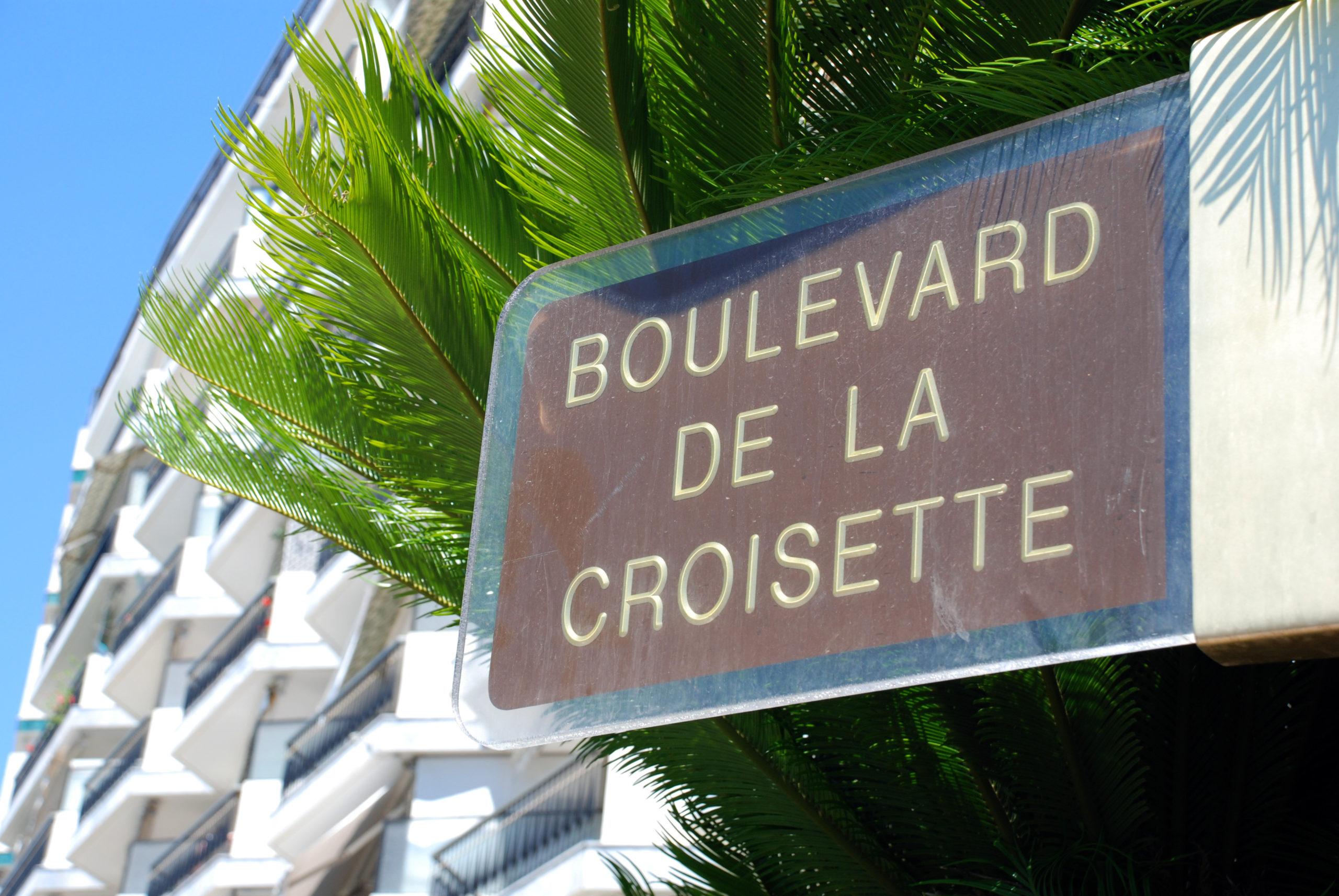 Lägenhet på shoppinggatan Boulevard de la Croisette, Franska Rivieran