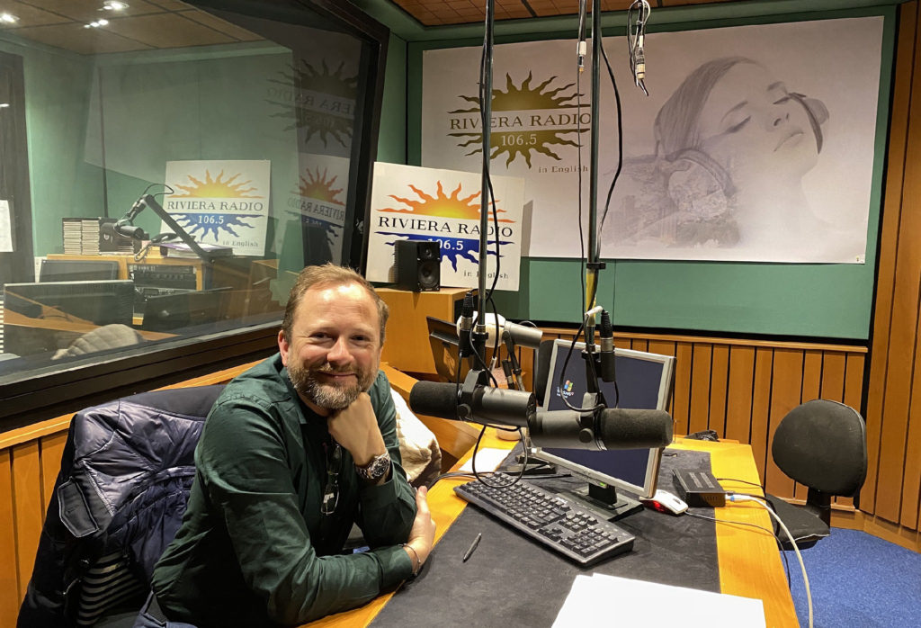 Filip Wretman at Riviera Radio 2020