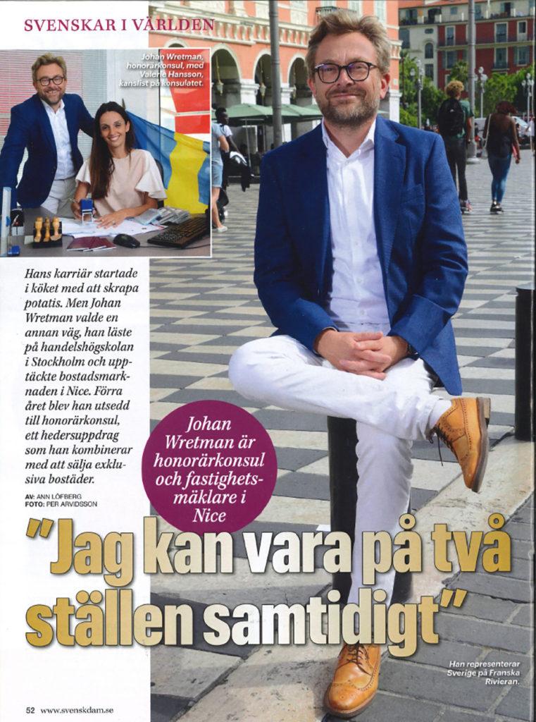 Intervju med Johan Wretman