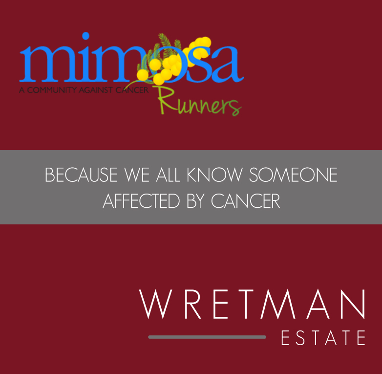 Wretman Estate sponsrar Mimosa Runners