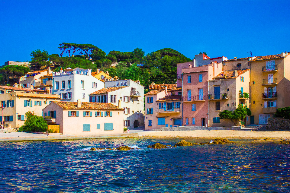 The Golden hour in St tropez