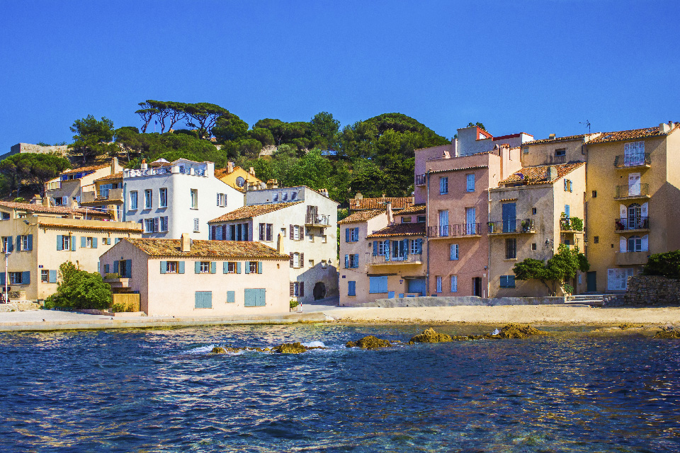 Utsikt över St Tropez