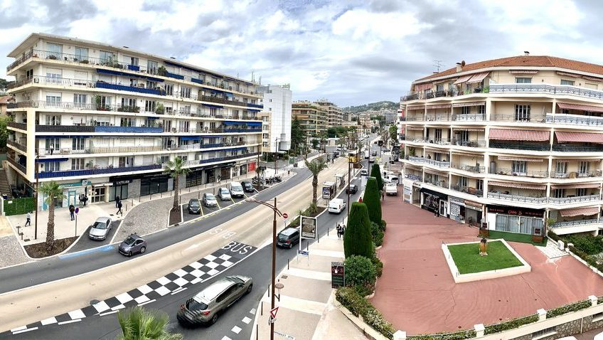 Exceptionell 4:a med terrass och garage – Cannes