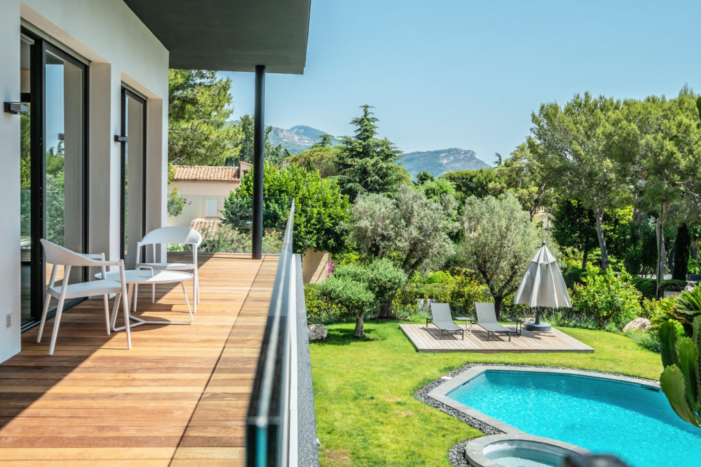 modern property villa for sale in south france