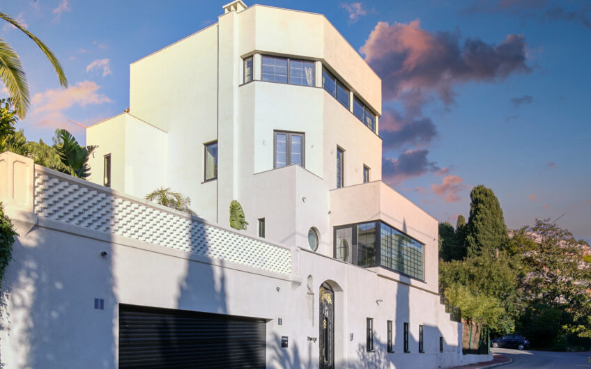 Superbe villa Art déco vue mer – Californie Cannes