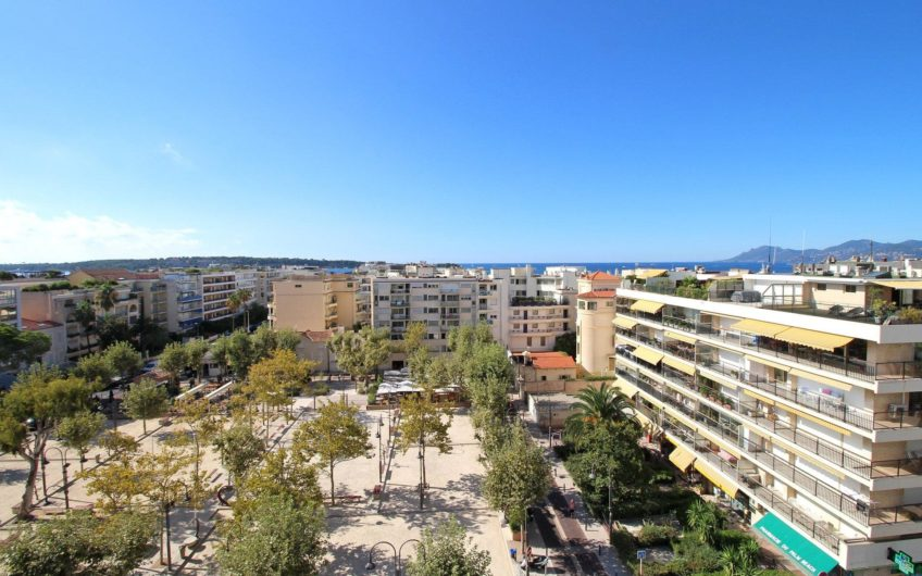 Magnificent apartment on the last floor – Cannes Palm Beach