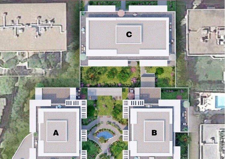 3 pièces dans programme neuf avec terrasse vue dégagée – Le Cannet