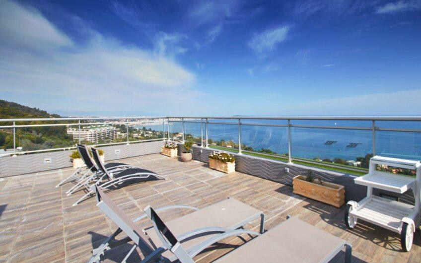 Penthouse avec vue imprenable sur la mer – Cannes californie