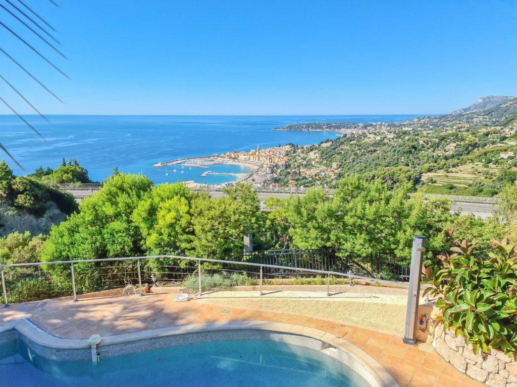 villa for sale in menton south france
