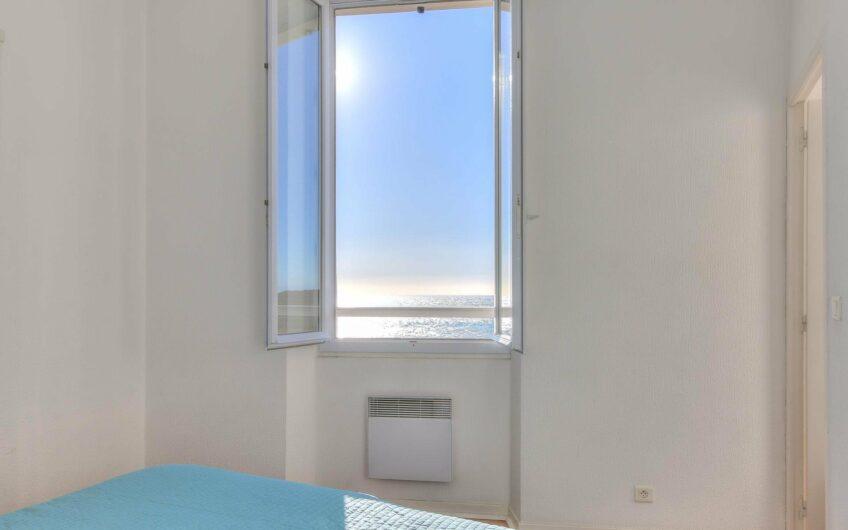 Joli 2 pièces lumineux avec vue mer – Menton Garavan