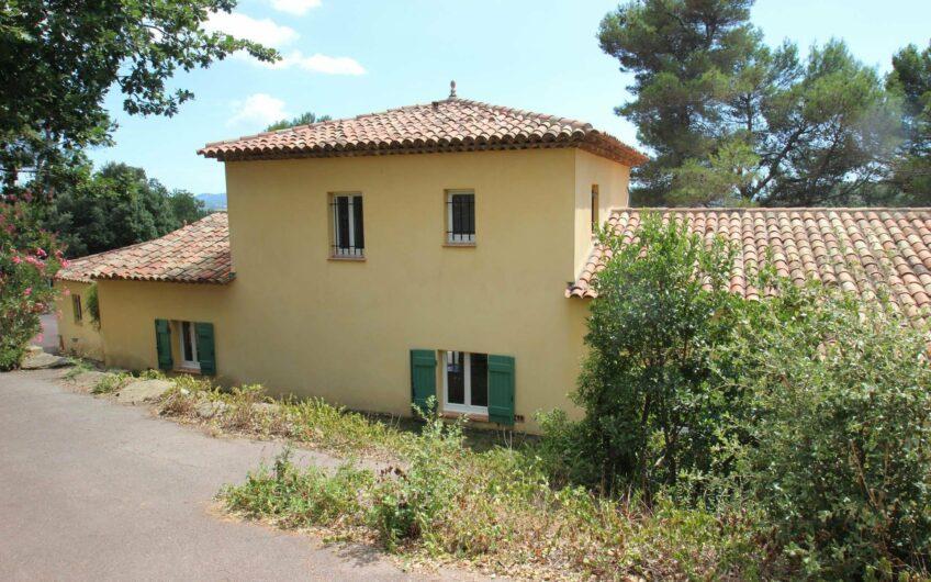 Villa avec vue sur le lac de St Cassien – Montauroux