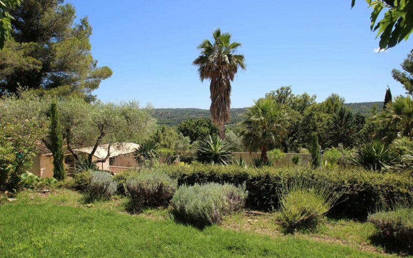 Belle villa avec vue – Tourrettes