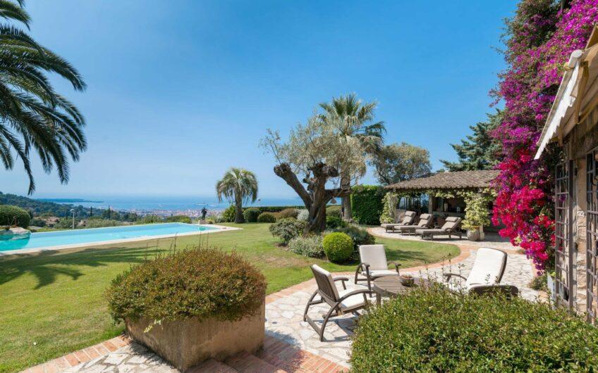 Bergerie avec vue panoramique – Hauteurs de Cannes
