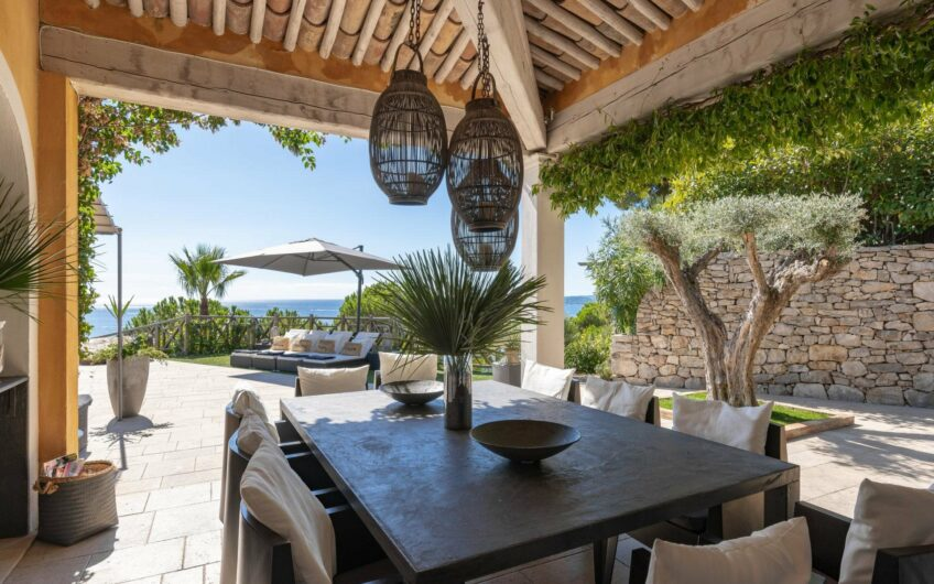 Beautiful villa with panoramic sea views – Sainte Maxime