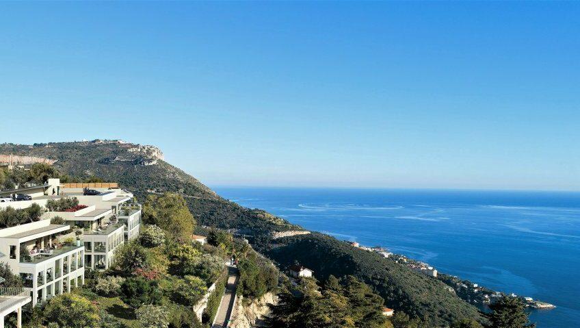 3 pièces luxueux avec grande terrasse et vue mer – Eze