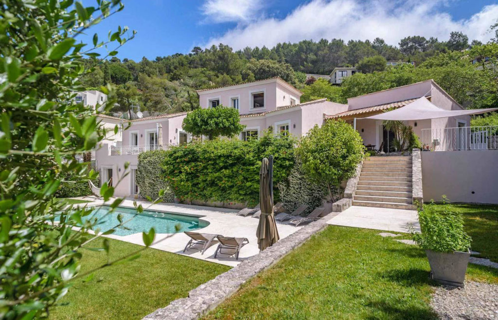 villa eze nice for sale with pool