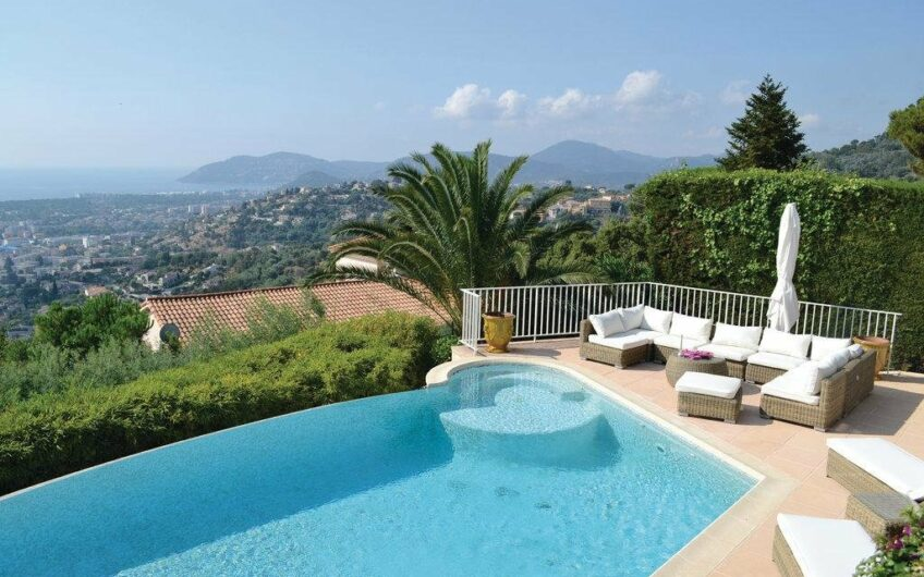 Villa néoprovençale avec vue mer panoramique – Mandelieu-la-Napoule