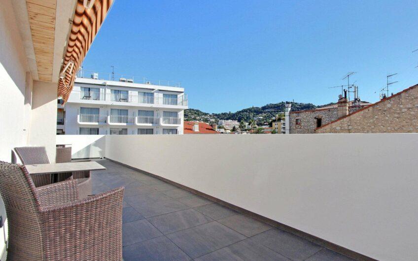 Penthouse 3/4 pièces avec terrasse – Cannes Banane
