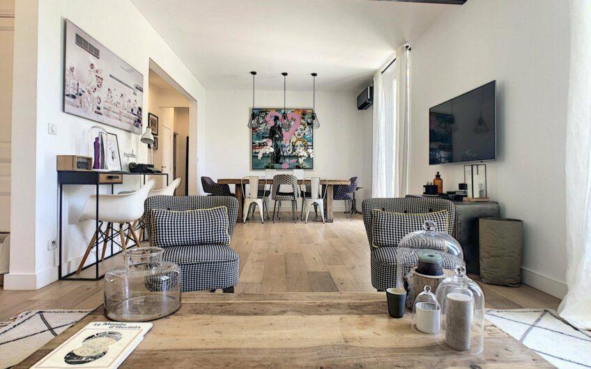 Appartement bourgeois rénové à deux pas de la plage Mouré Rouge – Cannes