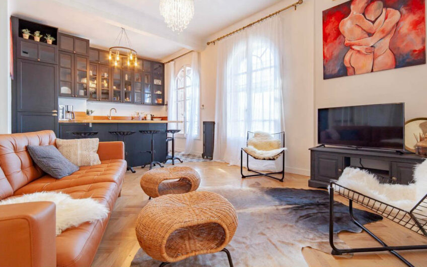 Stylish 2-bedroom apartment – Nice Carabacel