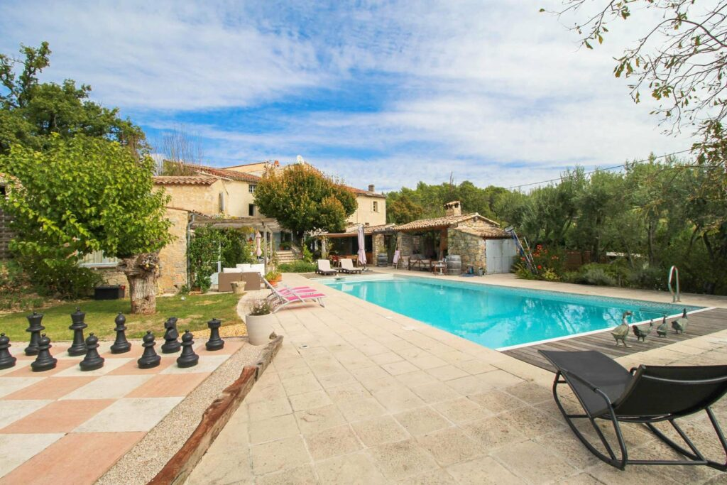 villa with a pool in south of france sale