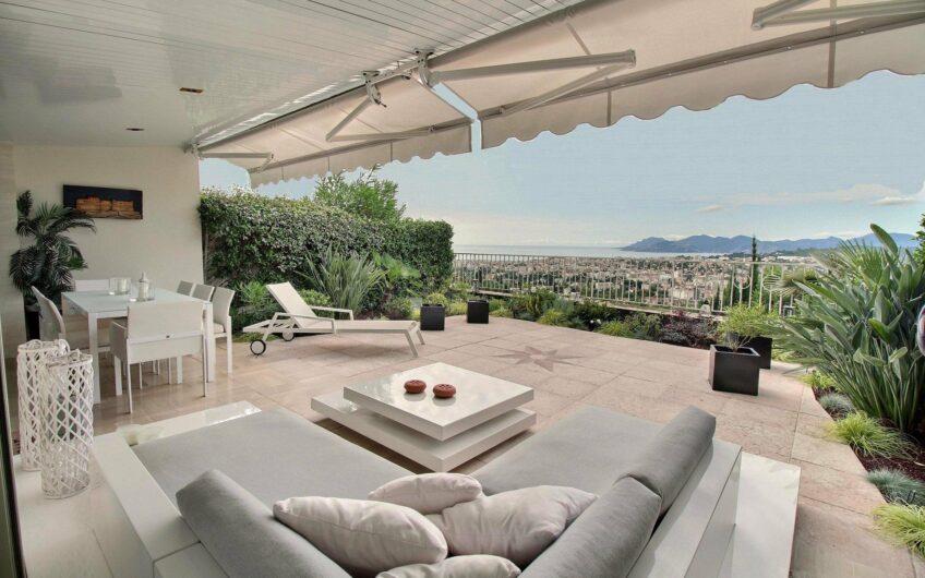 Appartement de luxe avec vue mer panoramique – Le Cannet