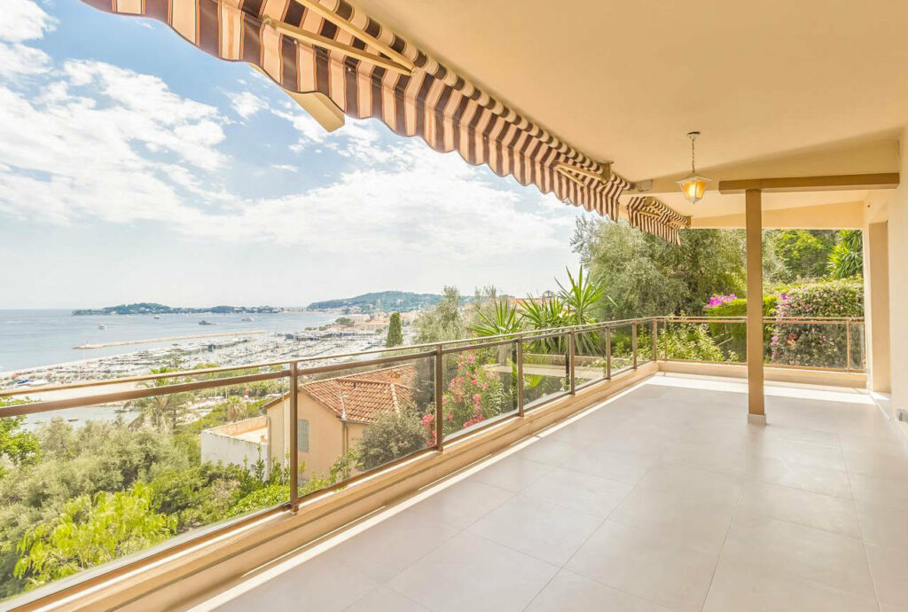 apartment with a view for sale in south france