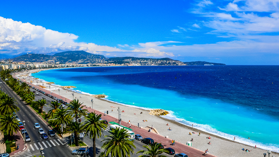 View of Nice, France