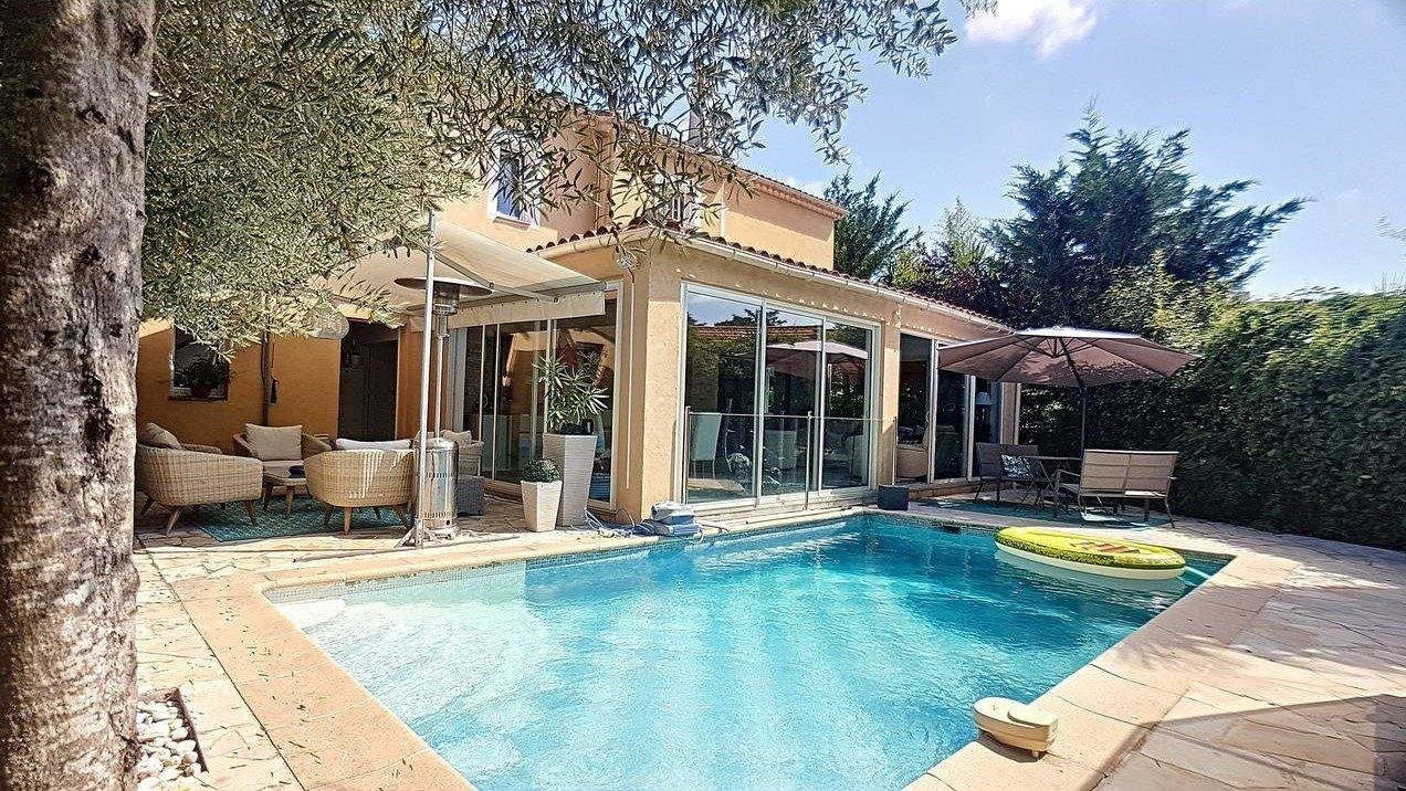 Individual House With Swimming Pool And Garden Cannes Montrose Wretman Estate