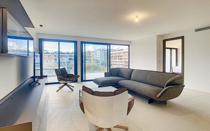 3-bedroom apartment with sea view in a hight floor brand new residence – Cannes Palm Beach