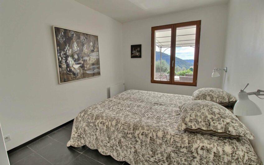 Villa med panoramautsikt – Bargemon