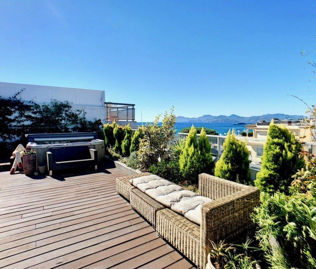 penthouse apartment for sale in cannes rooftop