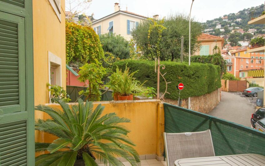 Studio with terrace and cellar – Villefranche-sur-Mer central
