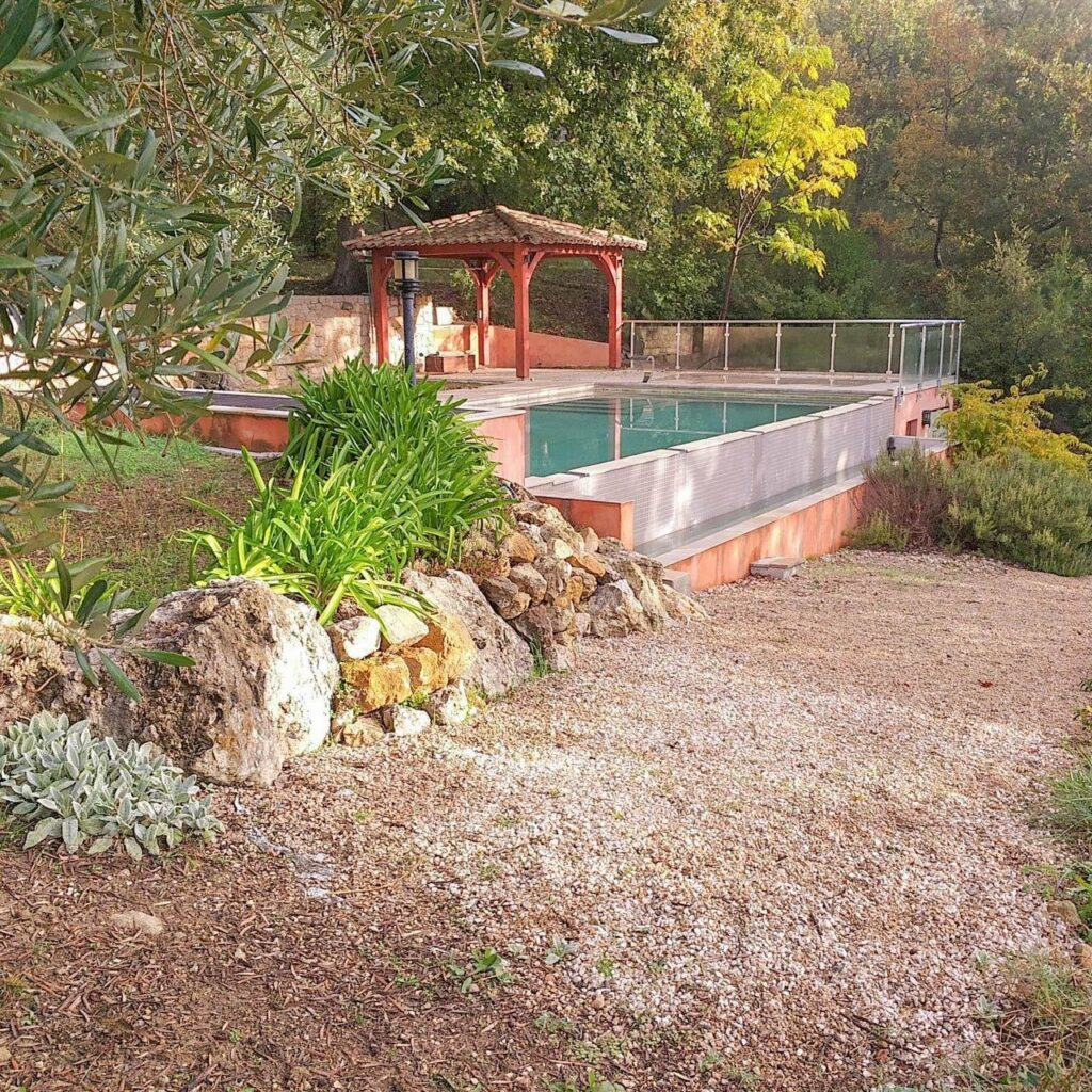 holiday home in south france provencal style two storeys with private pool