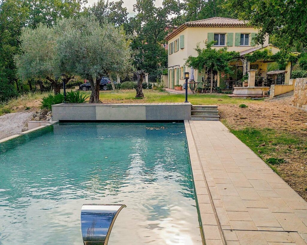private pool property for sale south france with large garden