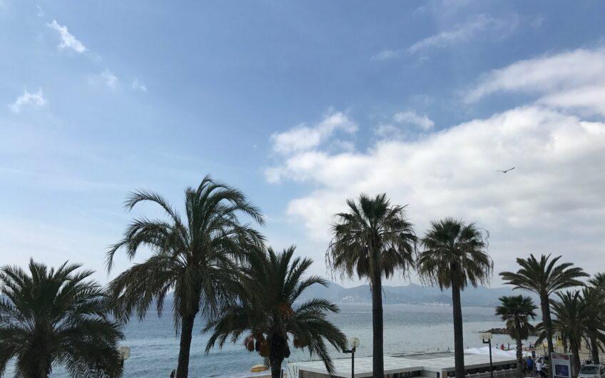 Appartement 3 pièces avec terrasse et vue mer – Cannes Plages du Midi