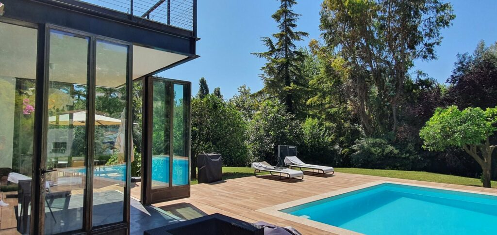 modern villa with pool for sale nice south france