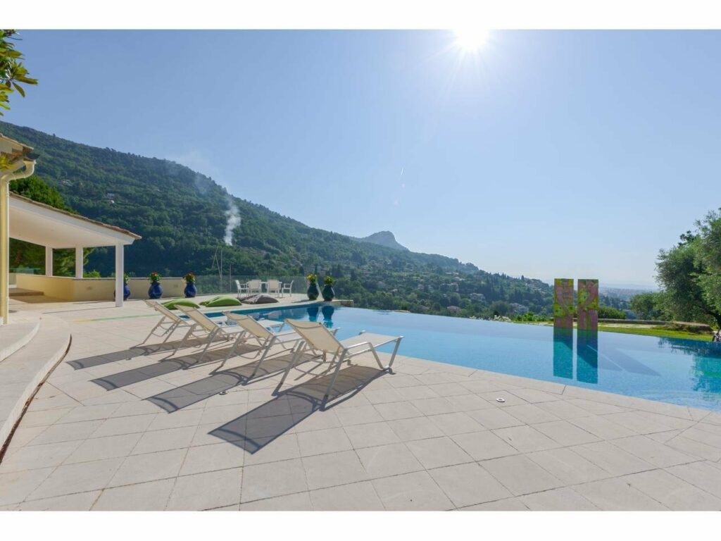 villa for sale vence south france with pool
