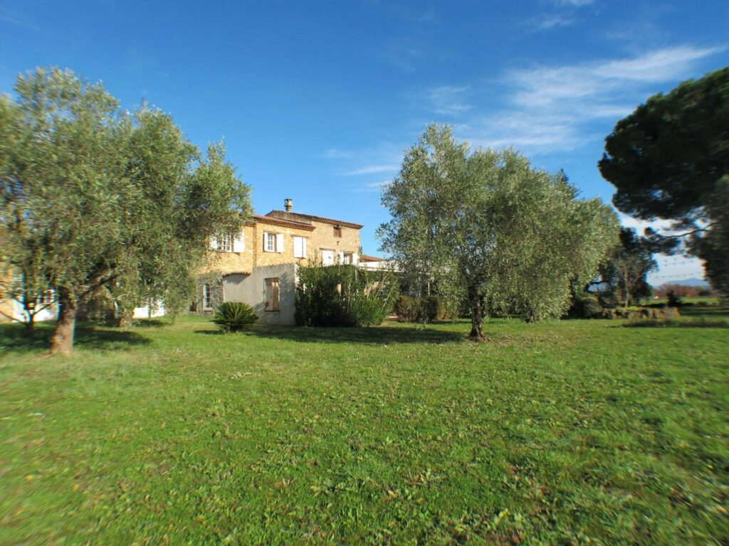 large villa with land for sale in south of france