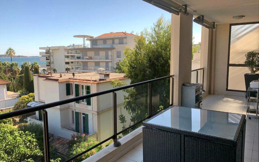Appartement 3 pièces avec terrasses et vue mer – Cannes Palm Beach