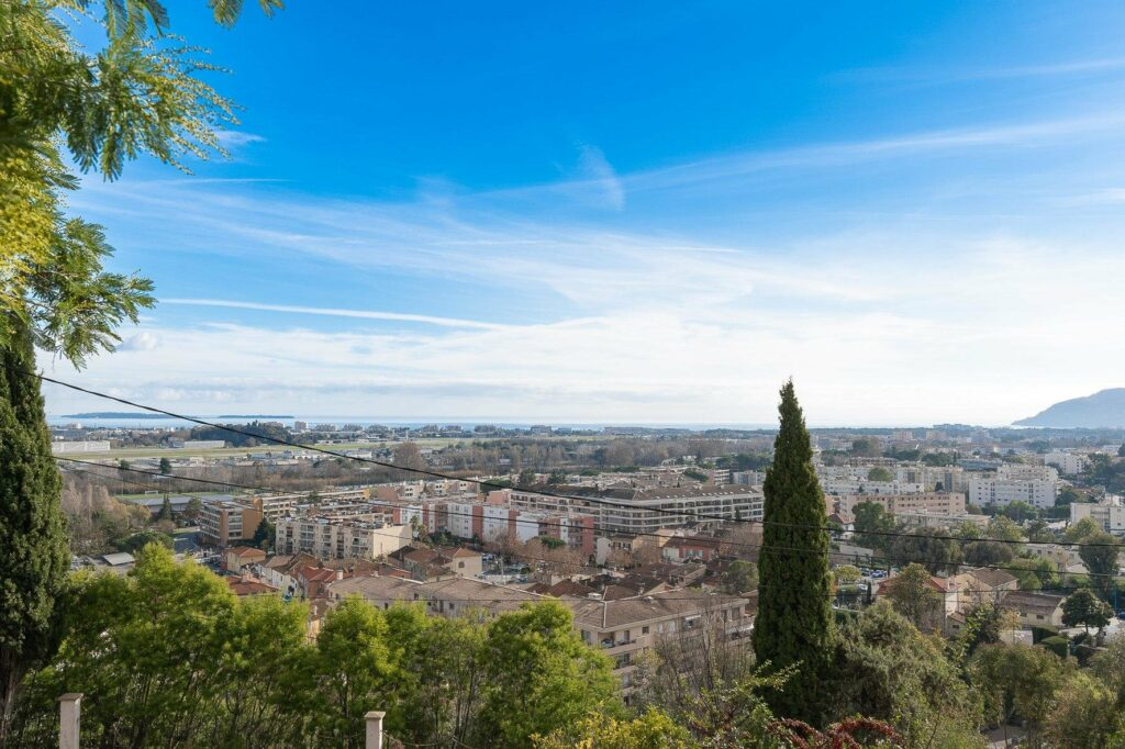terrace view of apartment for sale in cannes