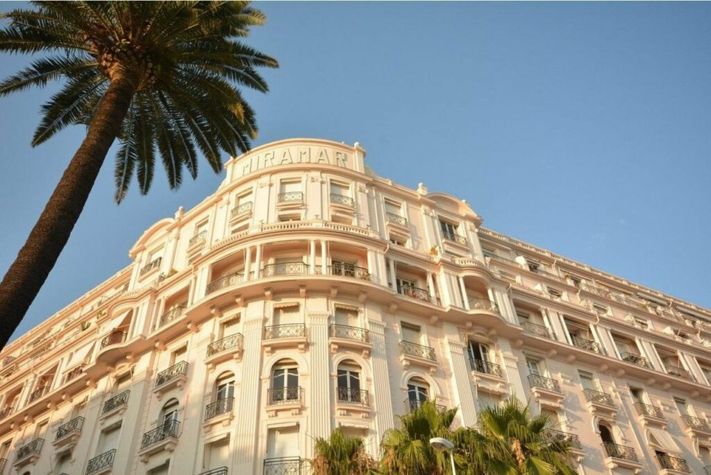 central building in cannes south of france
