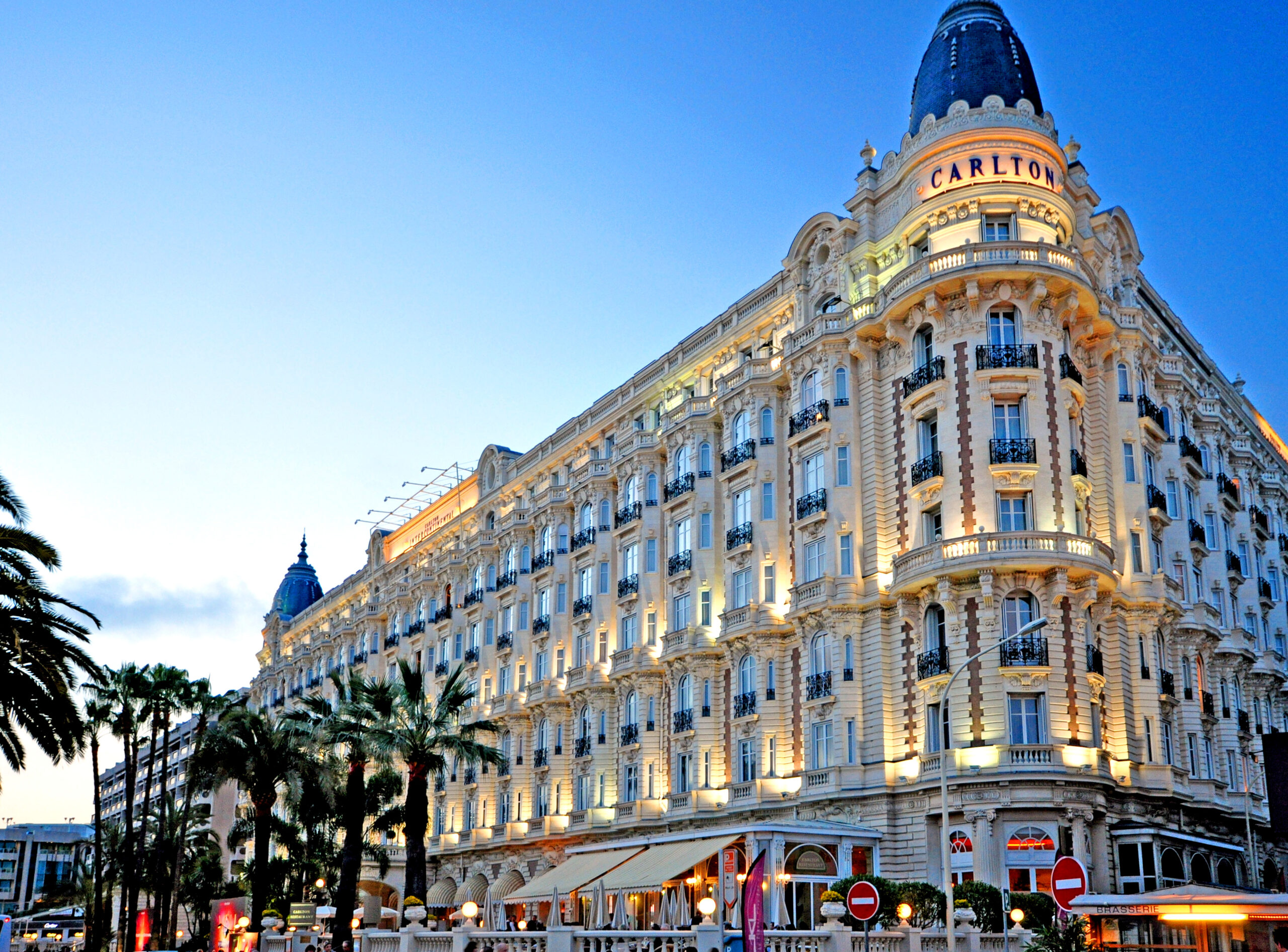 famous Carlton hotel in Cannes, South of France