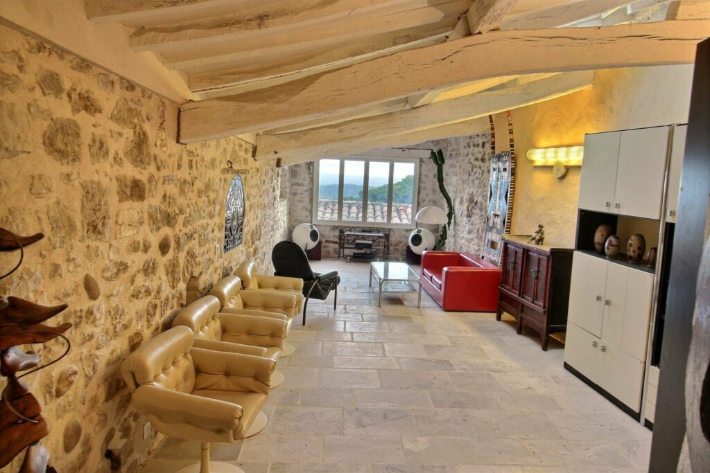 cave style property in south of france