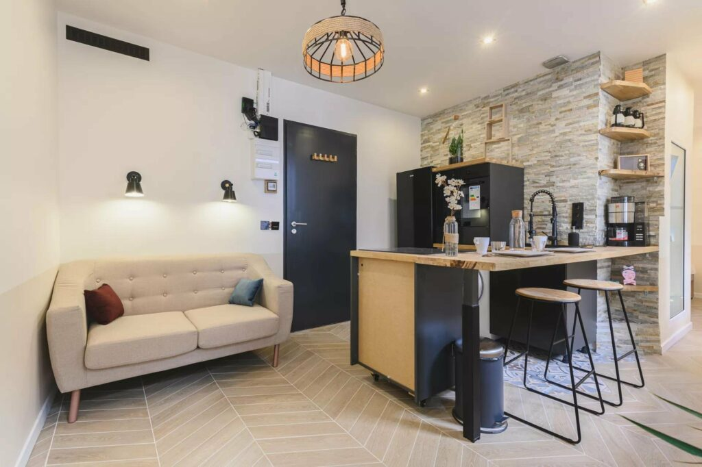 renovated apartment in central nice south of france