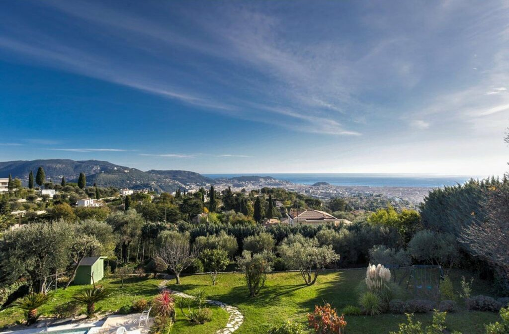 property house for sale in nice south of france with pool
