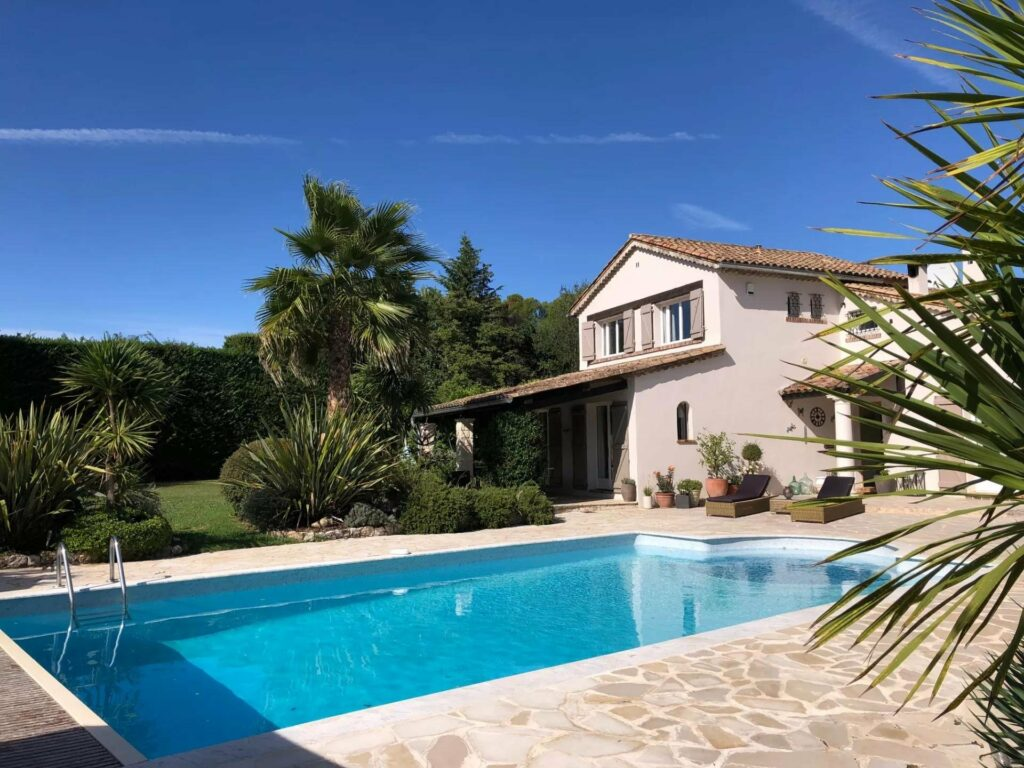 home with a pool in south of france for sale