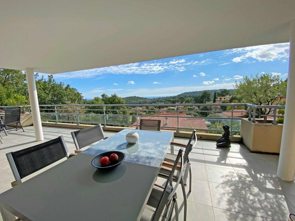property for sale in vence with view